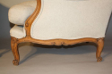A pair of French Walnut armchairs - picture 4