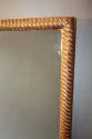 C19th rectangular rope twist mirror - picture 3