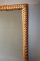 C19th rectangular rope twist mirror - picture 4