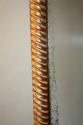 C19th rectangular rope twist mirror - picture 7