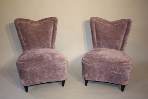 A pair of Italian chairs