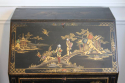 1920`s lacquered and painted Chinese decorated bureau - picture 2