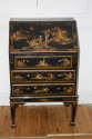 1920`s lacquered and painted Chinese decorated bureau - picture 3