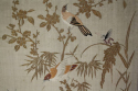 A pair of embroidered silk panels - picture 3