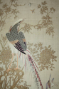 A pair of embroidered silk panels - picture 5