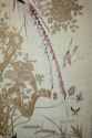 A pair of embroidered silk panels - picture 6