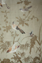 A pair of embroidered silk panels - picture 9