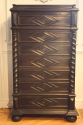 Ebonised Semainier Chest of Drawers, French c1900 - picture 4