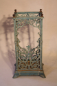 Turquoise enamelled umbrella/stick stand - picture 4