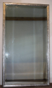 Antique French bistro silver rectangular bevelled glass mirror, c1900 - picture 2