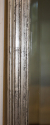 Antique French bistro silver rectangular bevelled glass mirror, c1900 - picture 4