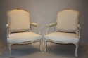 A pair of French Antique fauteuils, C19th - picture 1