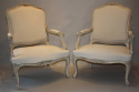A pair of French Antique fauteuils, C19th - picture 4