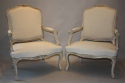 A pair of French Antique fauteuils, C19th - picture 5