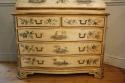 Handpainted Toile de Jouy bureau cabinet - picture 3