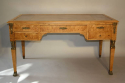 Empire revival burr walnut desk, French c1920 - picture 1