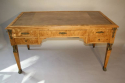 Empire revival burr walnut desk, French c1920 - picture 3