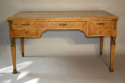 Empire revival burr walnut desk, French c1920 - picture 4