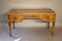 Empire revival burr walnut desk, French c1920 - picture 7