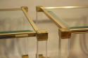 A pair of Pierre Vandel end tables - picture 1