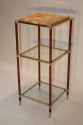 Three tier side table/stand, French c1970 - picture 1