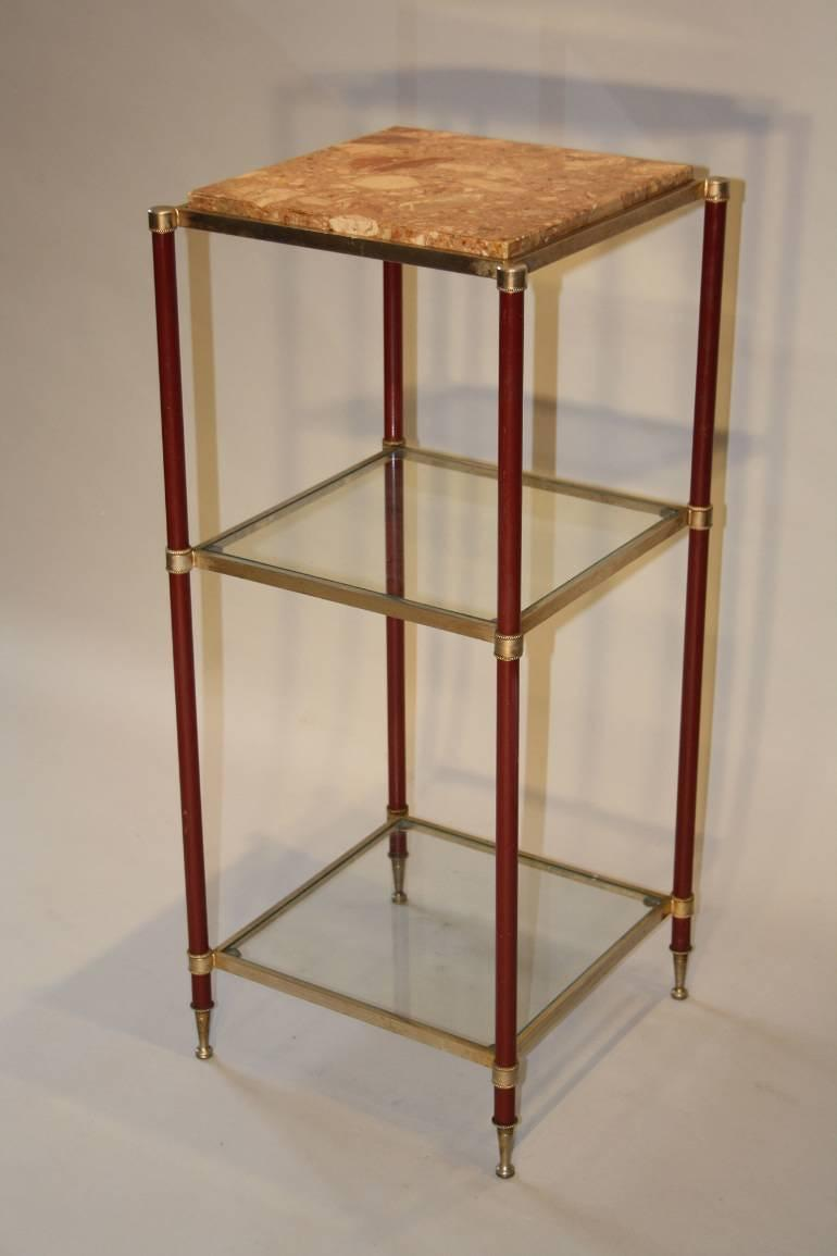 Three tier side table stand french c1970 in furniture for Tinning table model