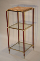 Three tier side table/stand, French c1970 - picture 2