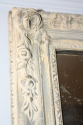Distressed painted blue grey mirror with original mercury glass plate. French C19th - picture 5