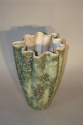 A large hand thrown coil glazed terracotta vase, French c1970 - picture 3