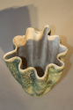 A large hand thrown coil glazed terracotta vase, French c1970 - picture 5
