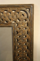 Florentine carved wood mirror - picture 5