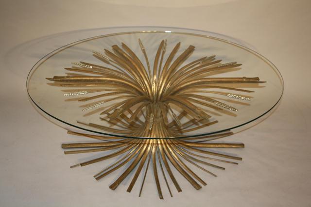 Oval wheatsheaf table
