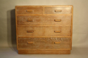 Limed Oak chest of drawers - picture 1