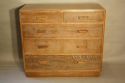 Limed Oak chest of drawers - picture 3
