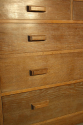 Limed Oak chest of drawers - picture 4