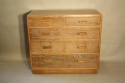 Limed Oak chest of drawers - picture 8