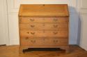 A large bleached Oak George III bureau - picture 2