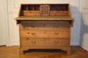 A large bleached Oak George III bureau - picture 3