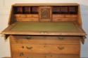 A large bleached Oak George III bureau - picture 4