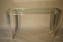 Lucite and glass console - picture 2