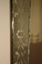 French Venetian mirror with etched floral detail, c1950 - picture 6