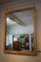 C19th Gilt wood reeded mirror - picture 3