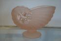 Pink glass shell bon bon dish, c1930 - picture 1
