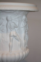 Antique white porcelain Limoges biscuit ware vase - picture 2