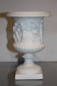 Antique white porcelain Limoges biscuit ware vase - picture 3