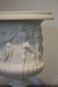 Antique white porcelain Limoges biscuit ware vase - picture 4
