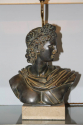 Apollo and Diana - a pair of C20th plaster table lamps. - picture 1
