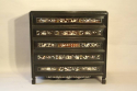 Ebonised and mother of pearl drawers - picture 2