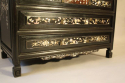 Ebonised and mother of pearl drawers - picture 4
