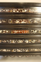 Ebonised and mother of pearl drawers - picture 5